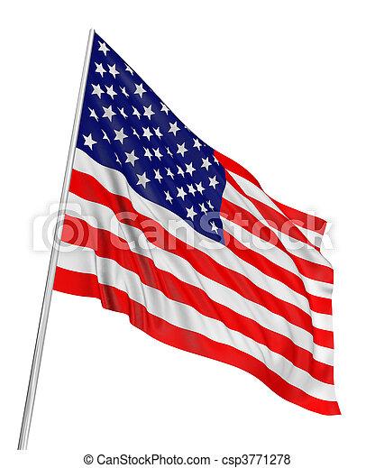 US Flag - csp3771278