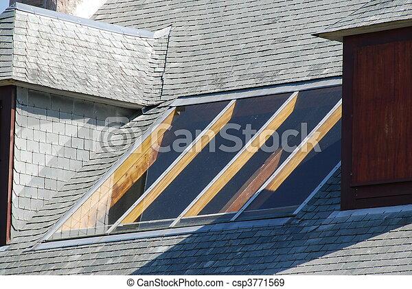 Janela em telhado