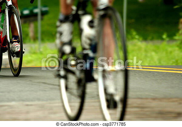 Bicycle road race - csp3771785
