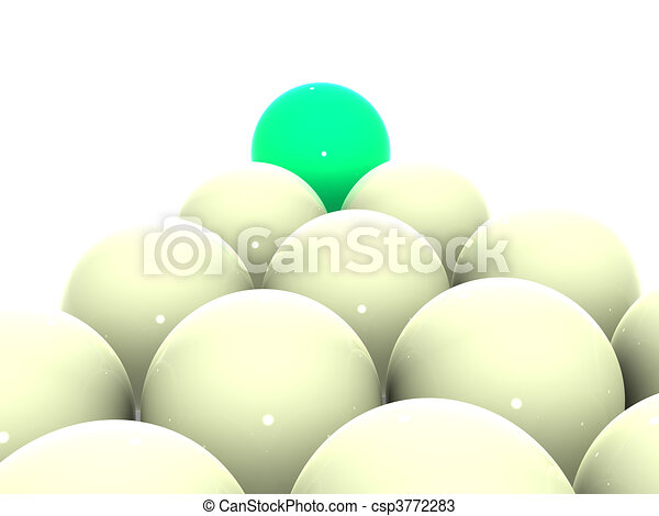 Billiard balls. - csp3772283