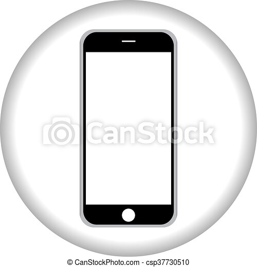 smartphone icon,vector illustration - csp37730510