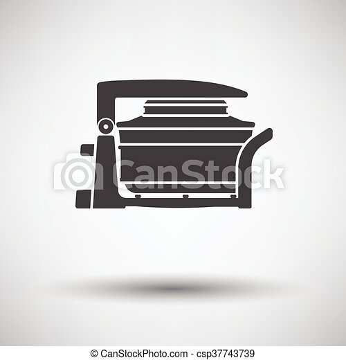 Electric convection oven icon - csp37743739