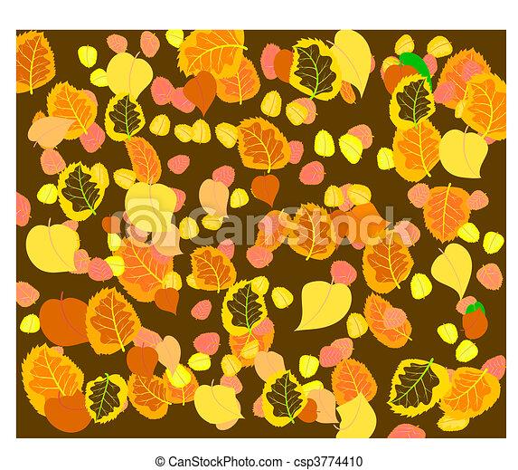 autumn eaves - csp3774410