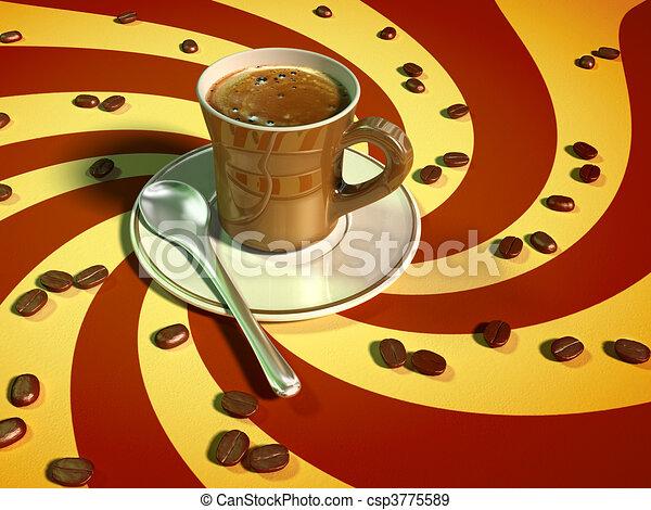 Espresso coffee - csp3775589