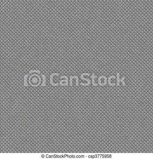 metal tiles seamless texture - csp3775958
