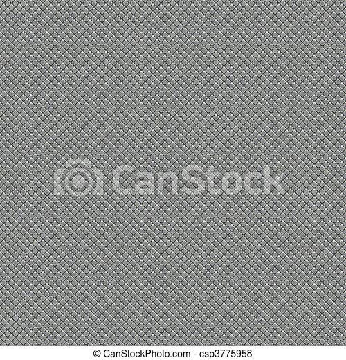 metal tiles seamless texture - csp3775958