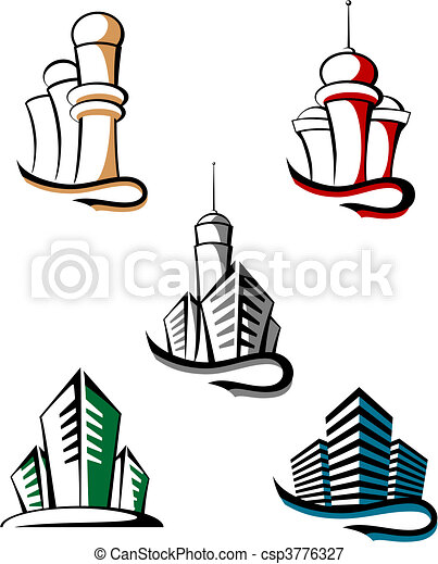 Real estate symbols - csp3776327