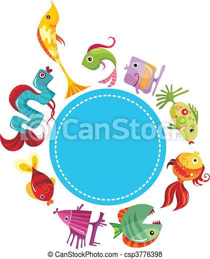 fish set - csp3776398