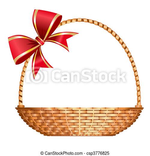 Vector gift basket - csp3776825