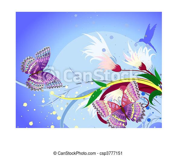 floral fantasy - csp3777151