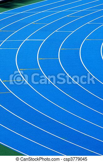 running track - csp3779045