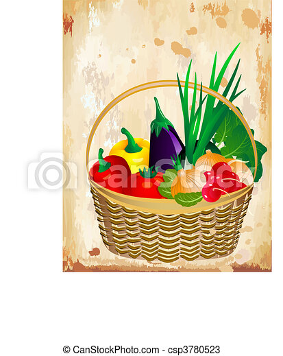 still life of vegetables - csp3780523