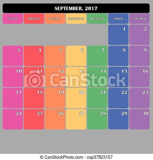 2017 Calendar Clipart - Free Calendars 2016 Images
