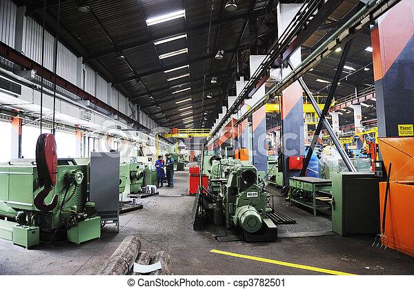 Photographies de usine int rieur fer travaux acier for Interieur usine