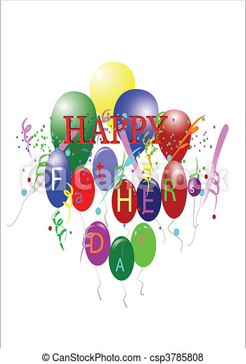 happy fathers day dad - csp3785808