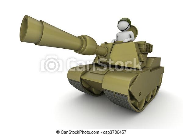Tankman - Army collection - csp3786457