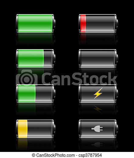 Batteries charges - csp3787954