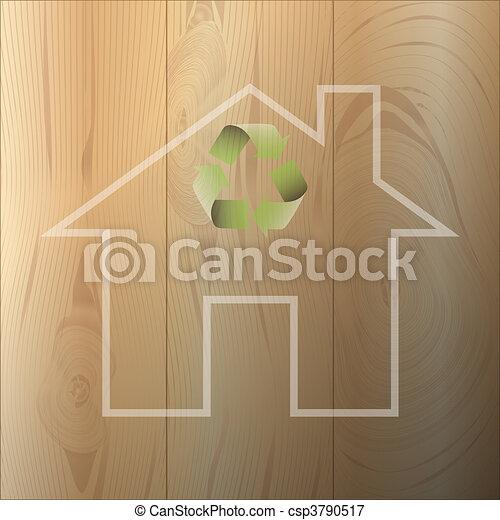 House of environmental materials - csp3790517