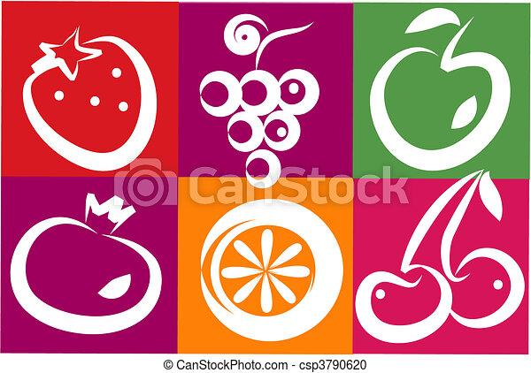 healthy summer fruits - csp3790620