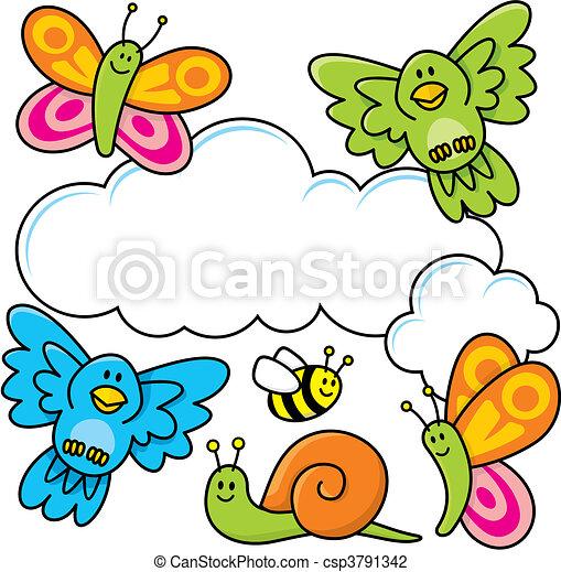 Baby animals - csp3791342