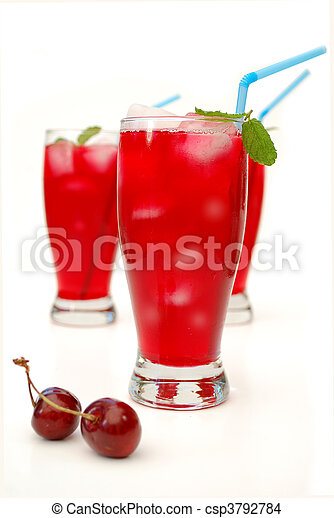 Cranberry juice cocktail - csp3792784