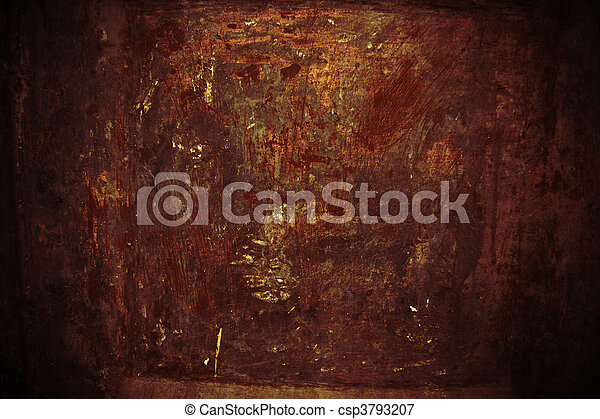 old rust texture - csp3793207