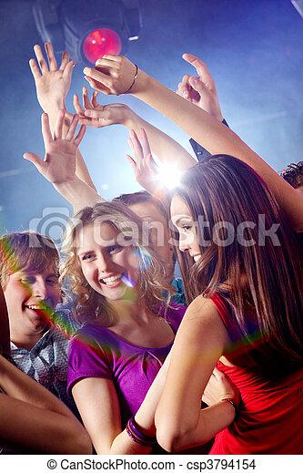 junto, Dançar - csp3794154