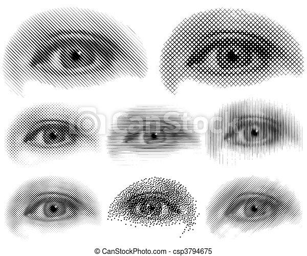 Eyes - csp3794675