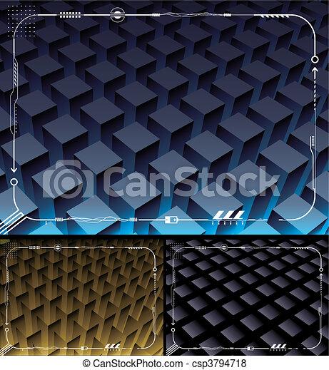 Electronic Technology Background - csp3794718