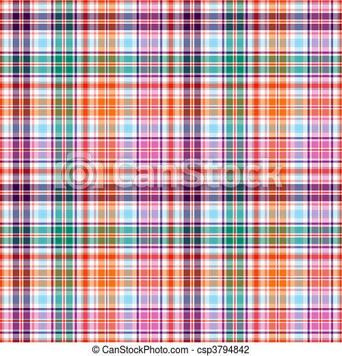 Seamless checkered pattern - csp3794842