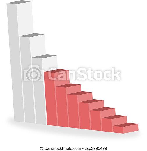 business statistics graph diagram w - csp3795479