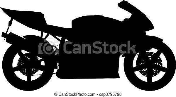 motorbike (vector) - csp3795798