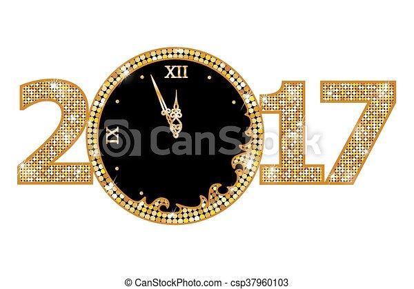 Vector Clipart ... 2017 Happy New Year Christian Clip Art