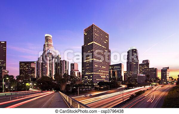 L.A. At Night - csp3796438