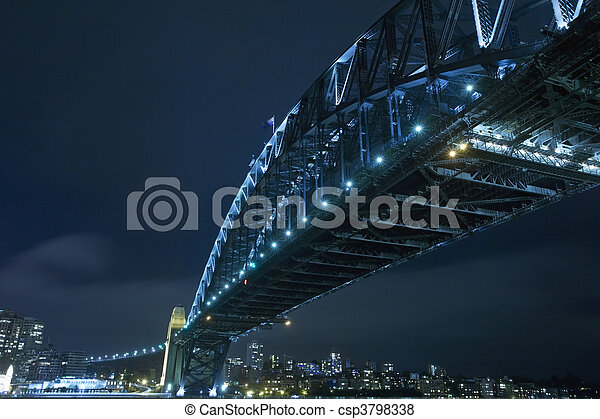 Sydney Harbour Bridge - csp3798338