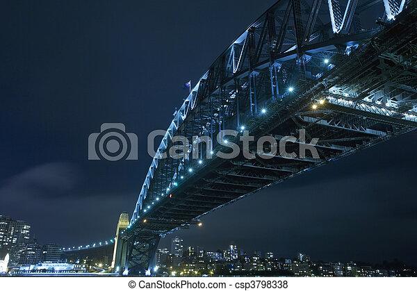Sydney Harbour Bridge - csp3798338