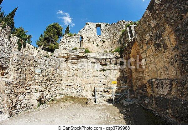 Images de byzantin mur rue bethesda glise anne for Piscine de bethesda