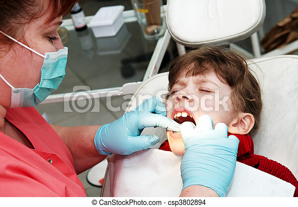 at dentist medic orthodontic doctor examination - csp3802894
