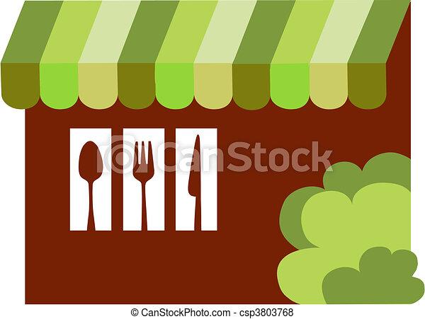 bistro, restaurant or diner - csp3803768