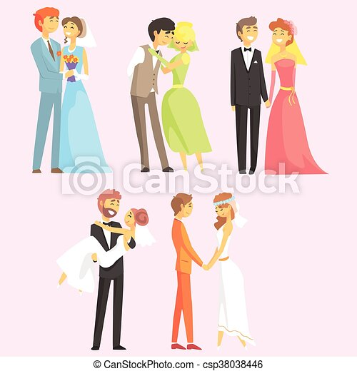 Couples Getting Married - csp38038446