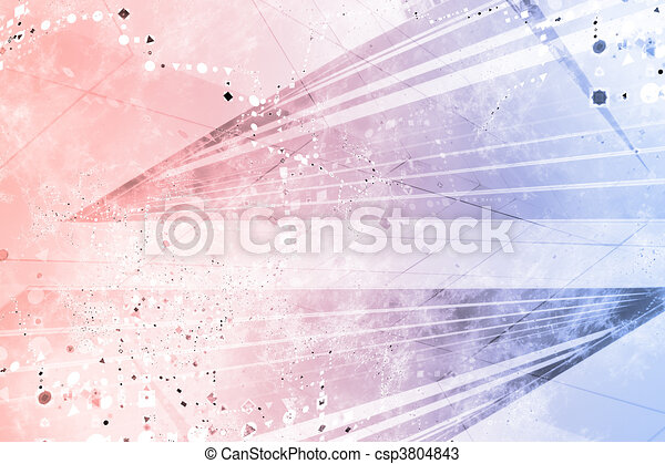 Generic Grunge Futuristic Abstract Background - csp3804843
