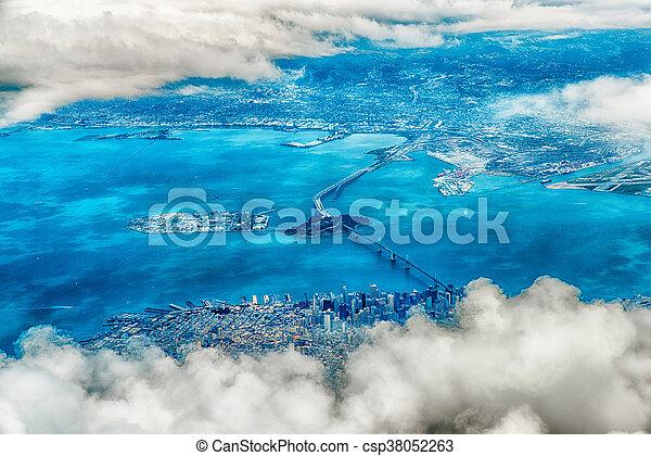 写真,  francisco, 航空写真,  San - csp38052263