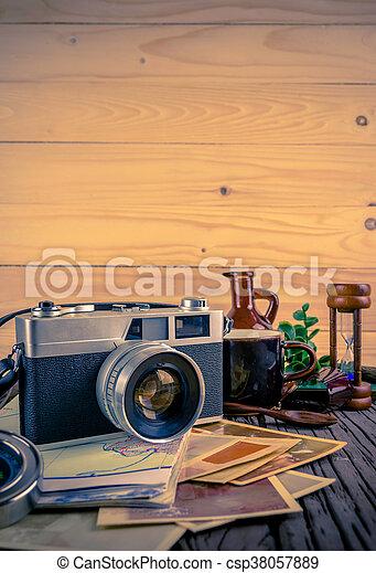 bilder von holz, ton, farbe, fotoapperat, hintergrund, retro, Esszimmer dekoo