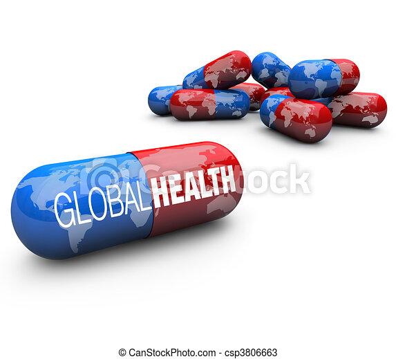 Global Health Care - Capsule Pills - csp3806663