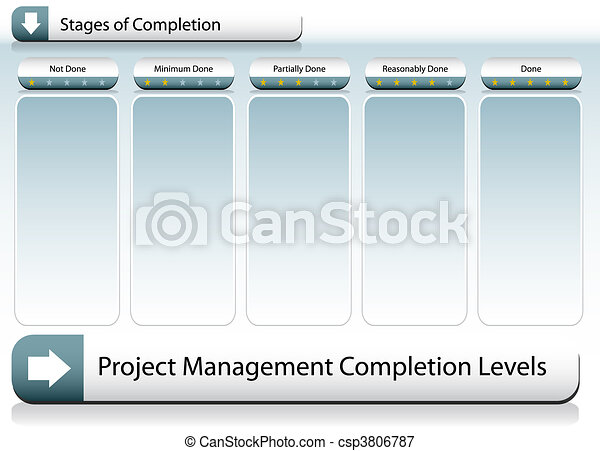 Project Management Chart - csp3806787