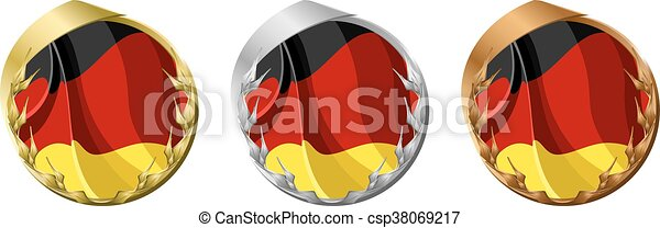Medals Germany - csp38069217