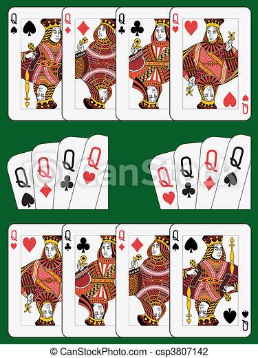 Four Queens - csp3807142