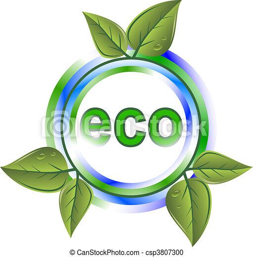 eco green icon - csp3807300