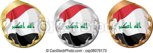 Medals Iraq - csp38076173
