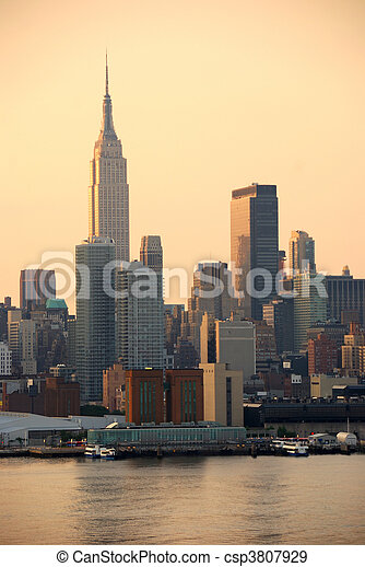 Empire State Building, New York City - csp3807929